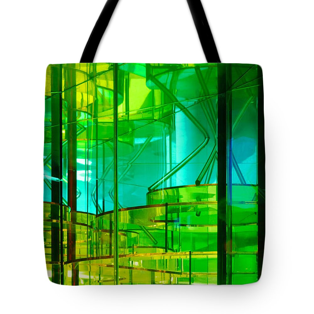 Layers Tote Bag featuring the photograph Levels by Francesa Miller