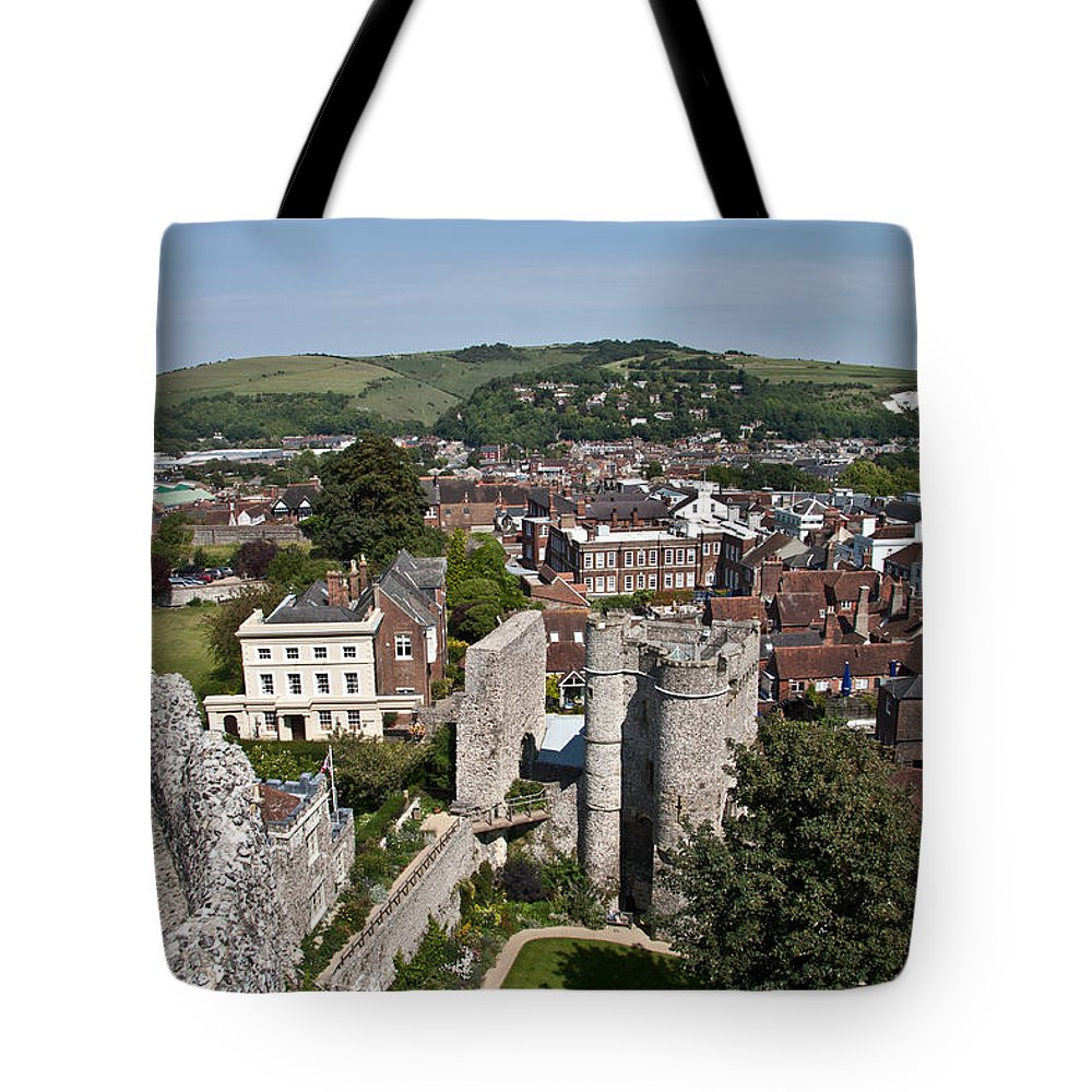 View Tote Bag featuring the photograph Lewes East Sussex by Dawn OConnor