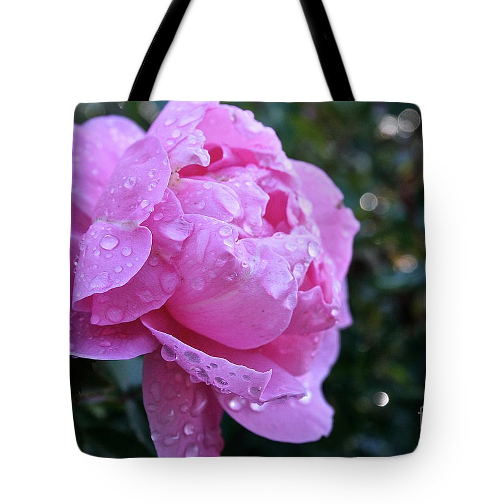 Flower Tote Bag featuring the photograph Life's Looking Up by Susan Herber