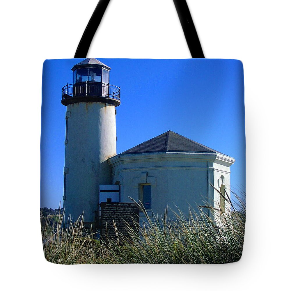 Lighthouse Tote Bag featuring the photograph Lighthouse by Rory Sagner