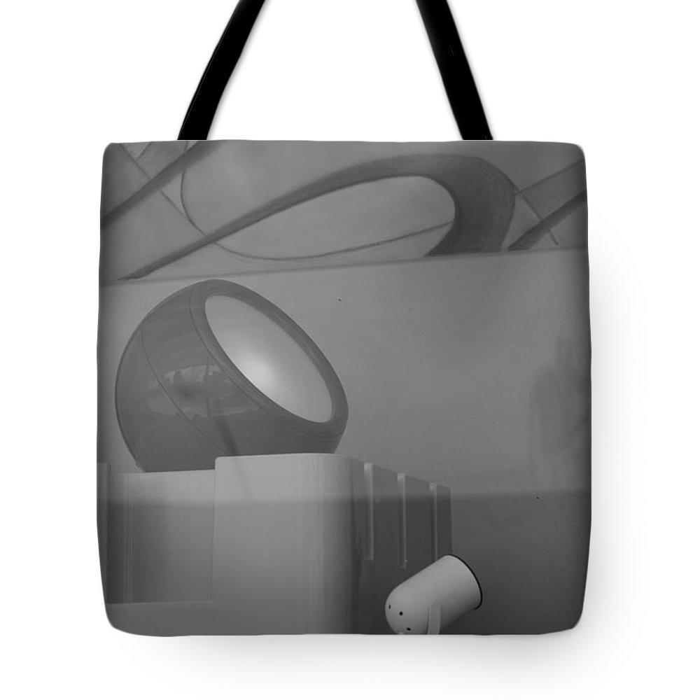 Lights Tote Bag featuring the photograph Lights And Reflections by Rob Hans