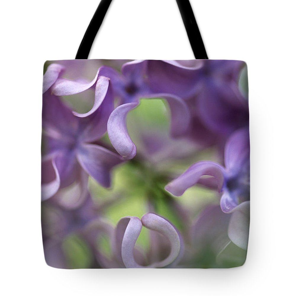 Fn Tote Bag featuring the photograph Lilac Syringa Sp Flower, Close by Jan Vermeer