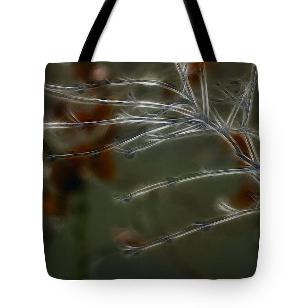 Lit Up Tote Bag featuring the photograph Lit Up by Wes and Dotty Weber