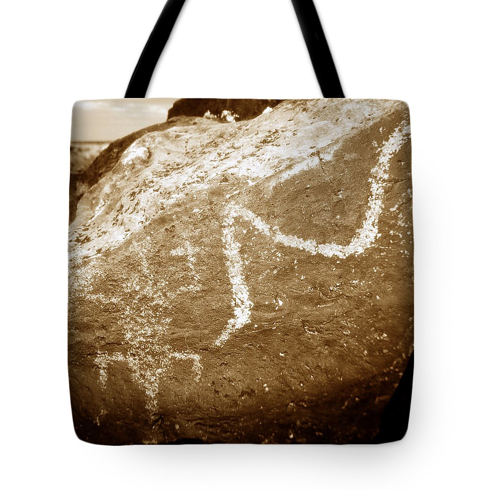 Fine Art Photography Tote Bag featuring the photograph Lizard Man by David Lee Thompson