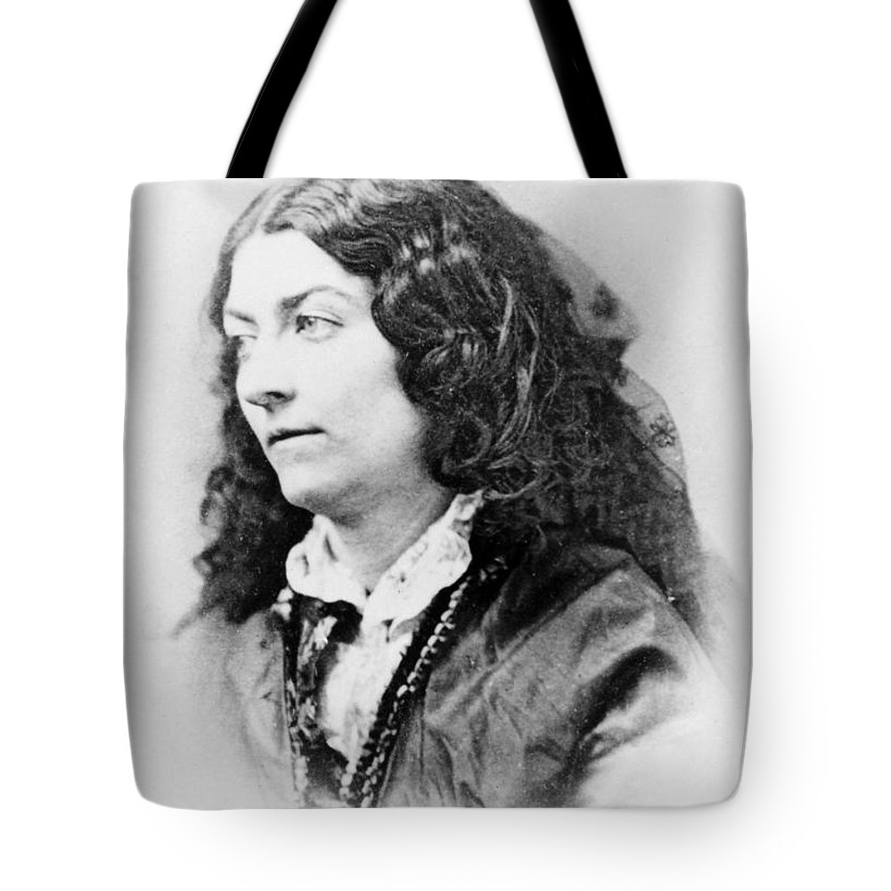 19th Century Tote Bag featuring the photograph Lola Montez (1818-1861) by Granger