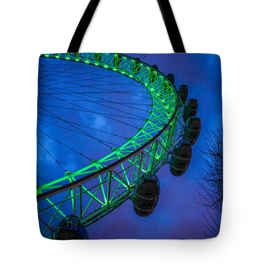 London Eye Tote Bag featuring the photograph London Eye by Dawn OConnor