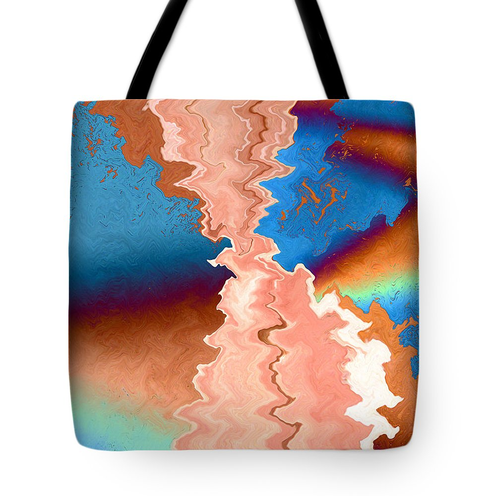 Watercolor On Paper Tote Bag featuring the painting Longevity by Paula Ayers