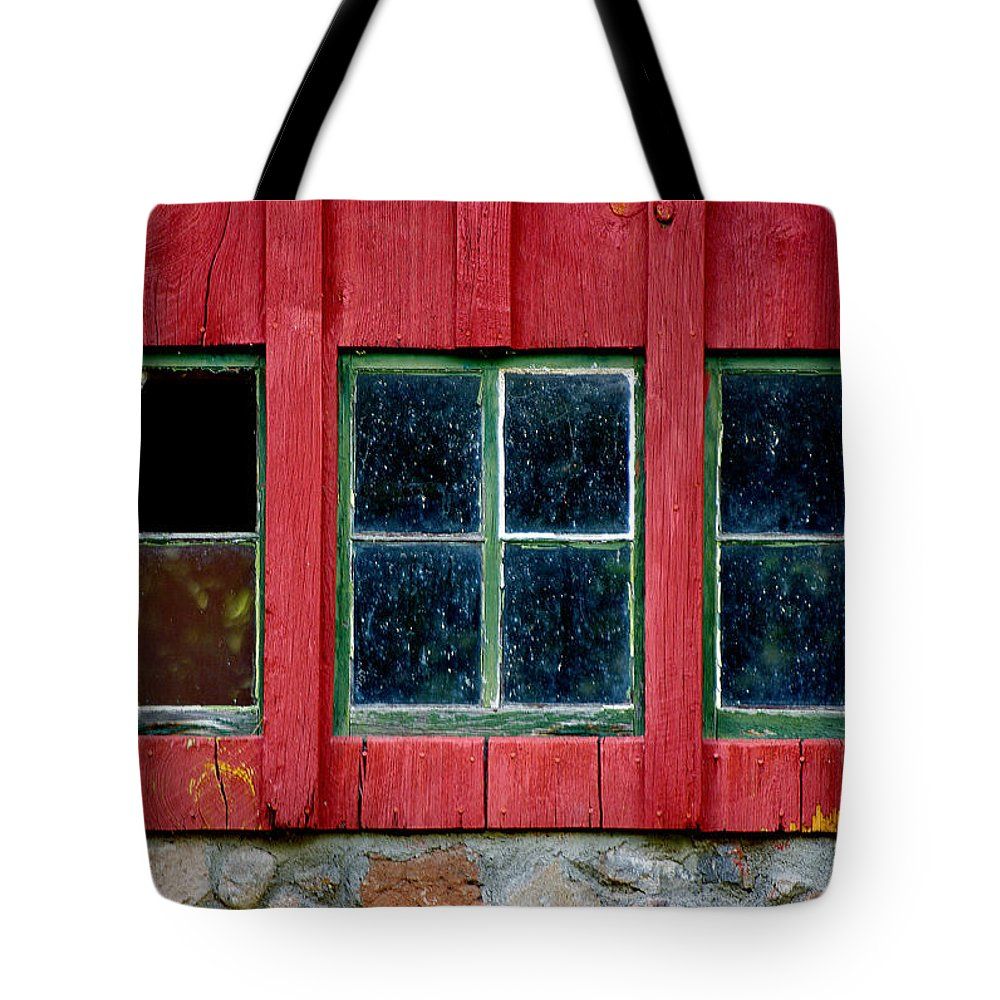Window Tote Bag featuring the photograph Look Throught Any Window by Vicki Pelham