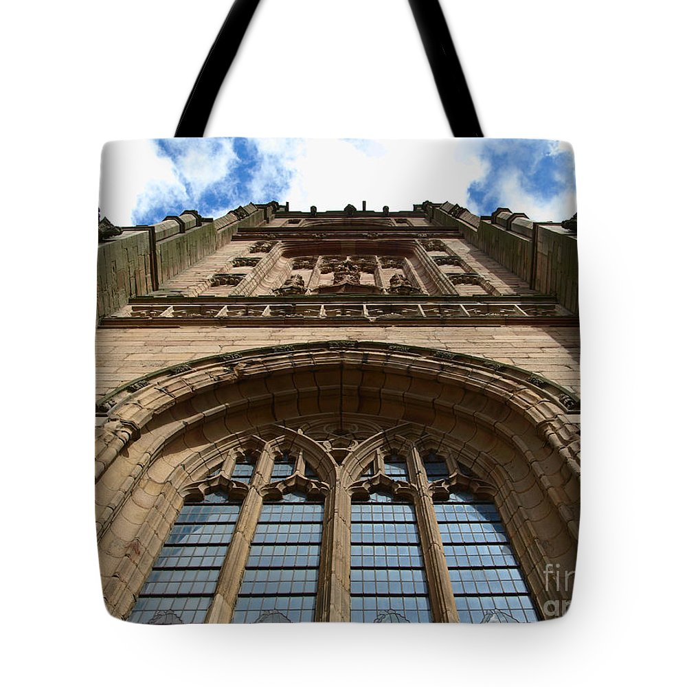 Cathedral Tote Bag featuring the photograph Looking Up To God by Steev Stamford