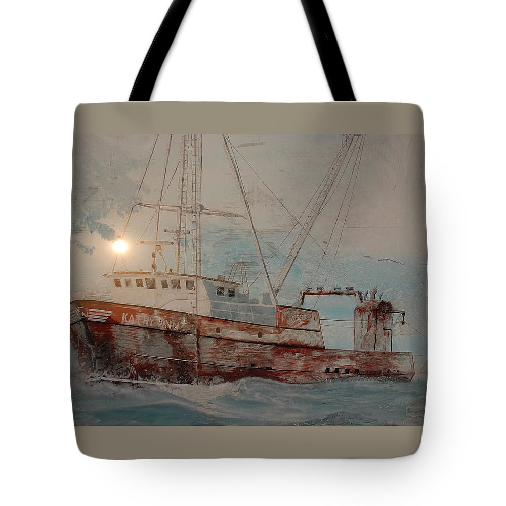 Lost Tote Bag featuring the photograph Lost At Sea by Jim Cook
