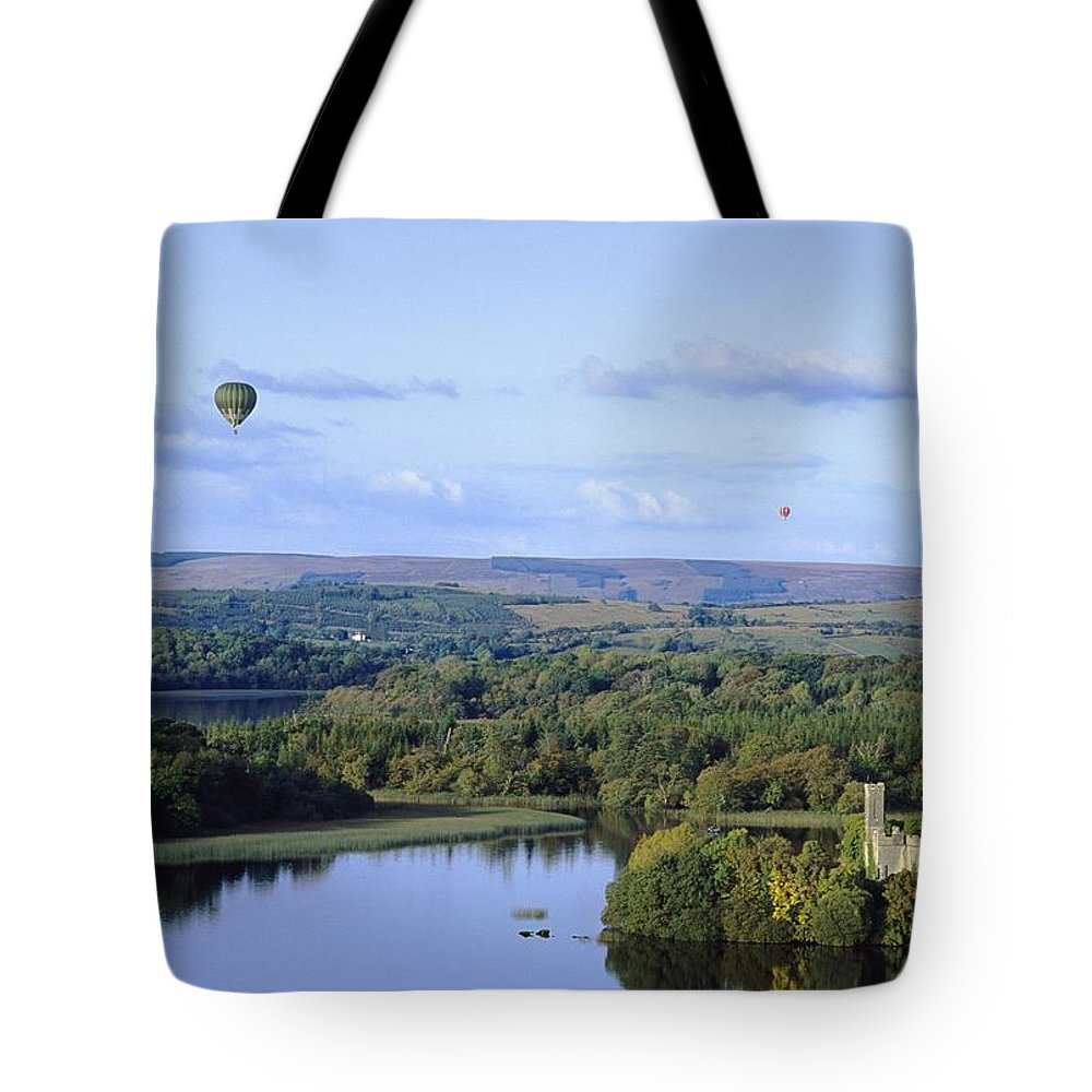 Journey Tote Bag featuring the photograph Lough Key Forest And Activity Park by The Irish Image Collection