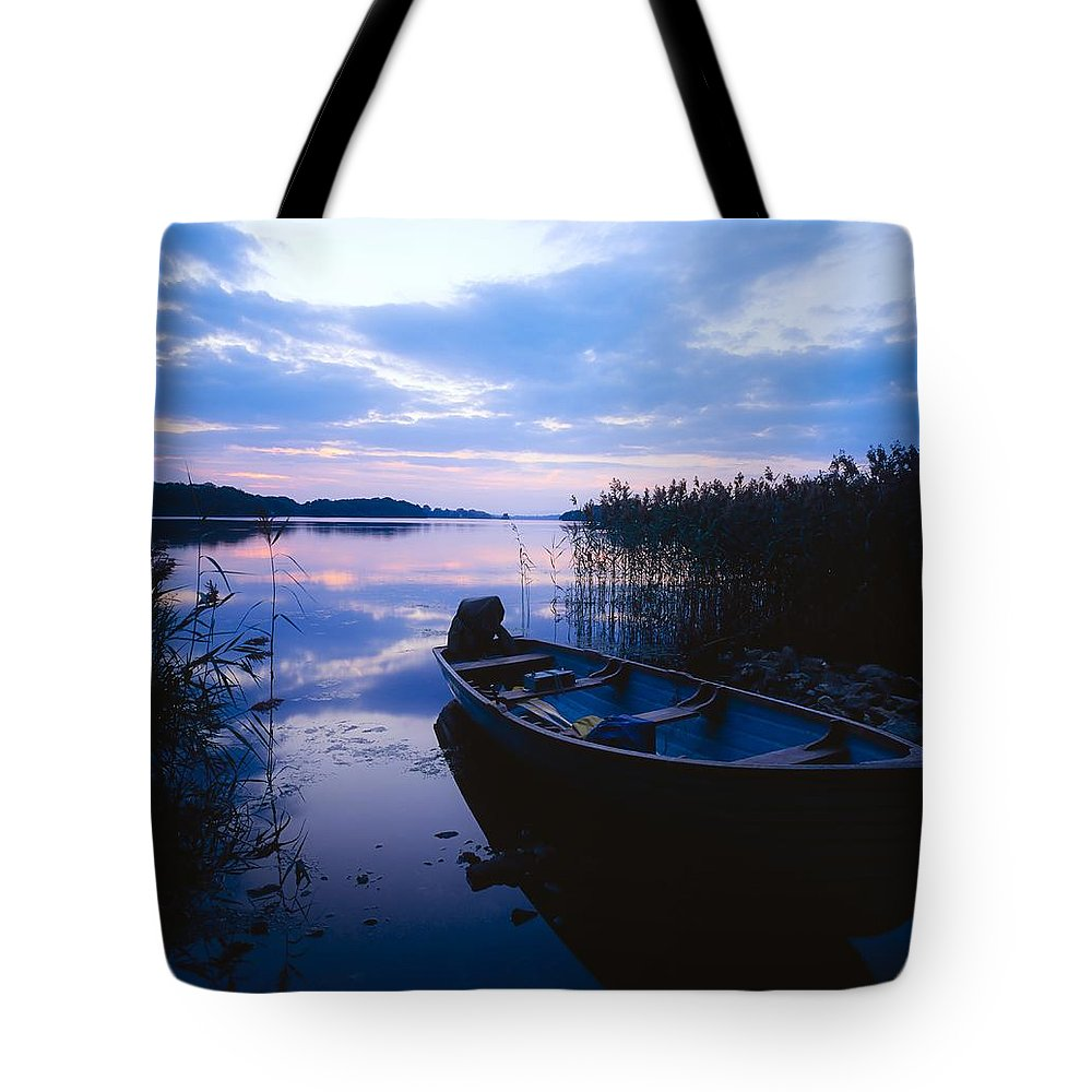 Boat Tote Bag featuring the photograph Lough Leane, Lakes Of Killarney, Co by The Irish Image Collection