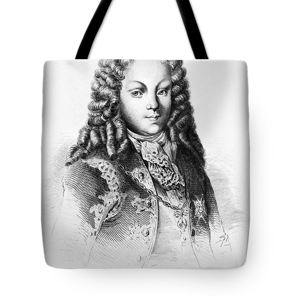 1724 Tote Bag featuring the photograph Louis I Of Spain (1707-1724) by Granger