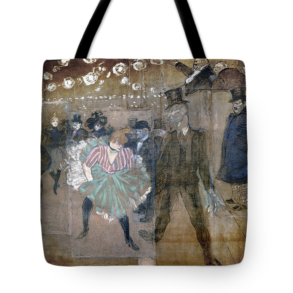 1895 Tote Bag featuring the photograph Louise Weber (1866-1929) by Granger