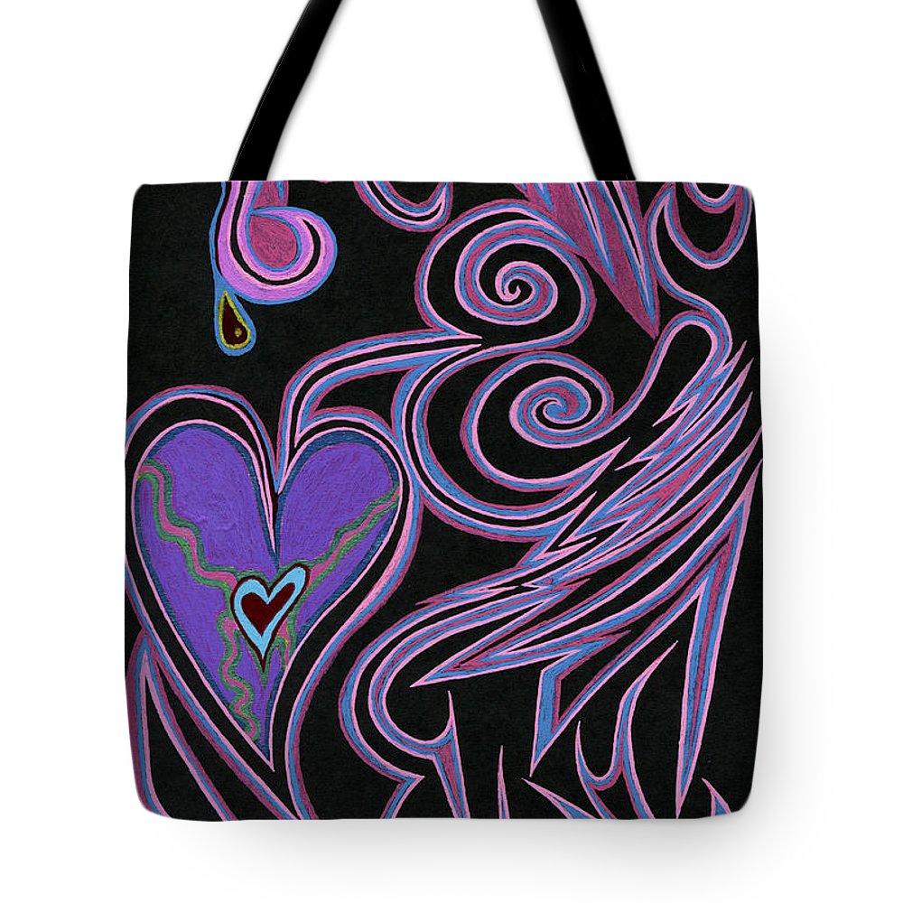 Love So Precious Tote Bag featuring the digital art Love So Precious by Kenneth James