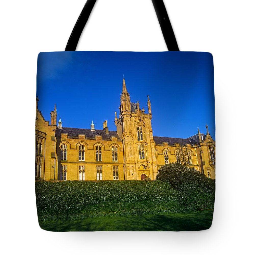 19th Century Tote Bag featuring the photograph Low Angle View Of A Building, Magee by The Irish Image Collection