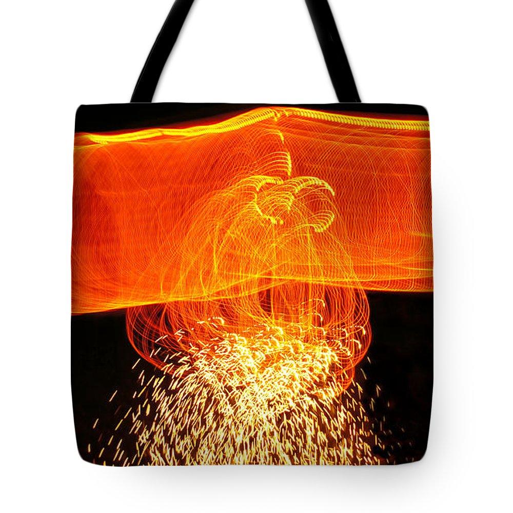 Night Shadows Tote Bag featuring the photograph Luminosity by Cj Mainor