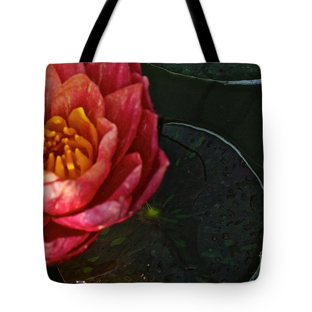 Flower Tote Bag featuring the photograph Lush Lily by Susan Herber