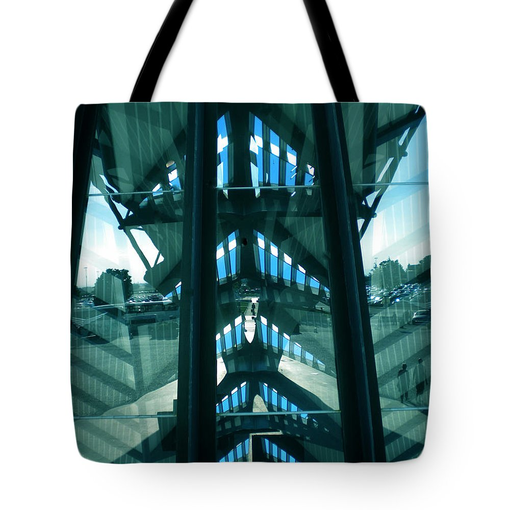 Colette Tote Bag featuring the photograph Lyon Gare France Architecture by Colette V Hera Guggenheim
