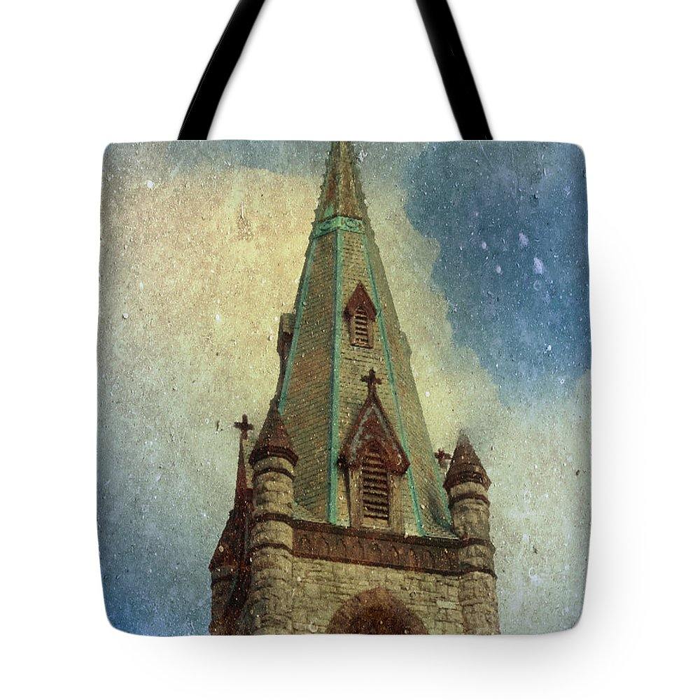Church Tote Bag featuring the photograph Magical Things Happen Here by Trish Tritz