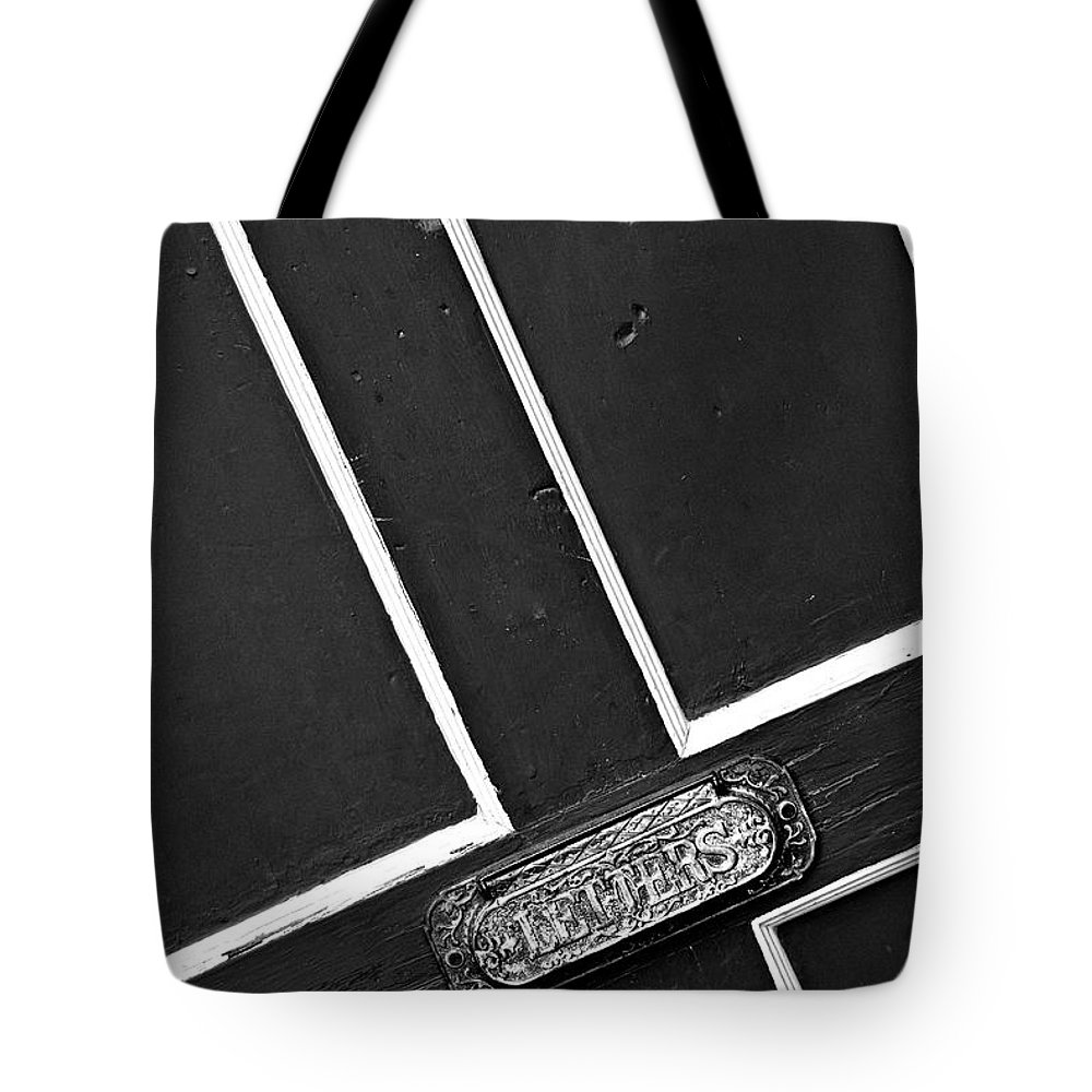 Letter Tote Bag featuring the photograph Mail Me A Letter by Cindy Tiefenbrunn
