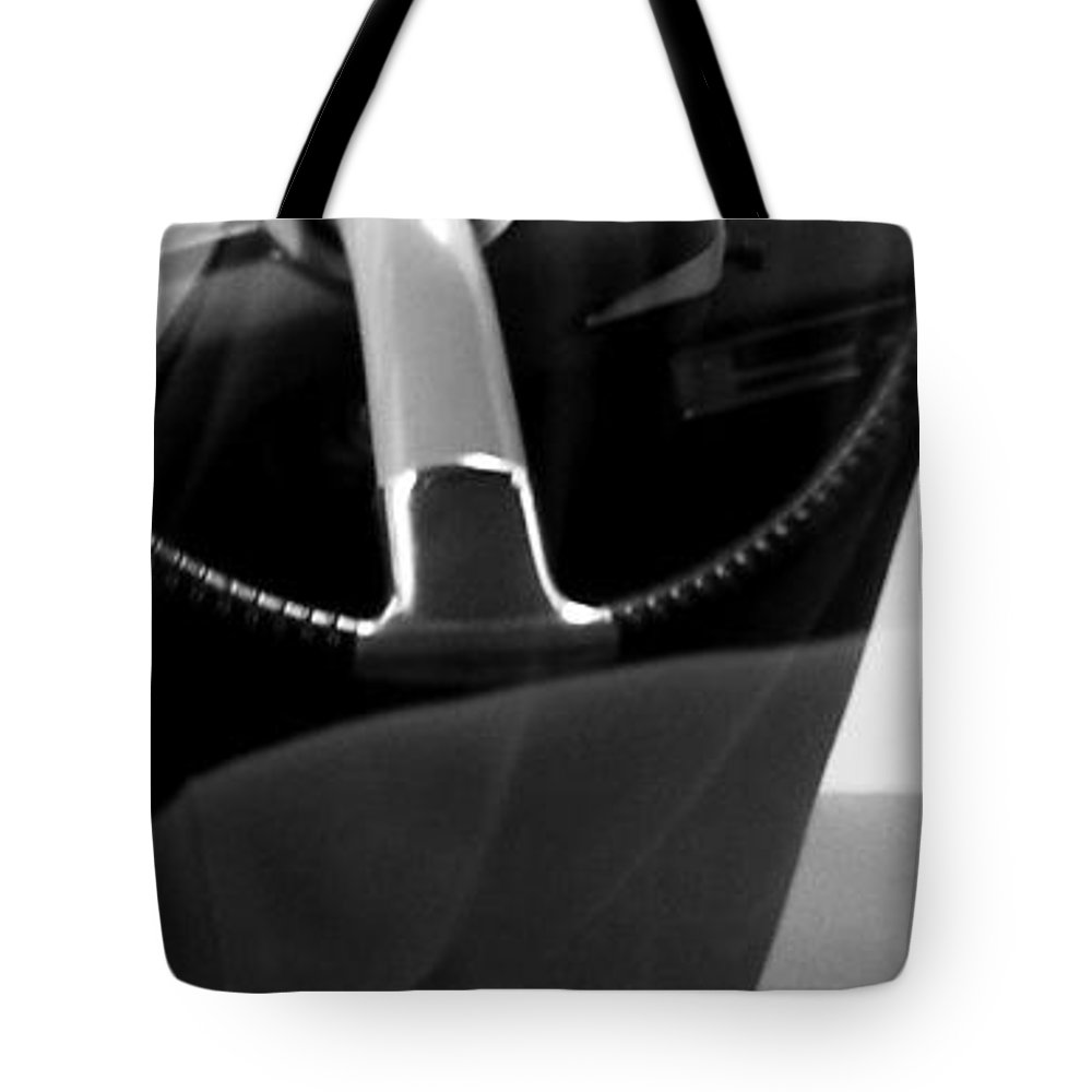 Citroen Ds Tote Bag featuring the photograph Man And Goddess by Andy Prendy