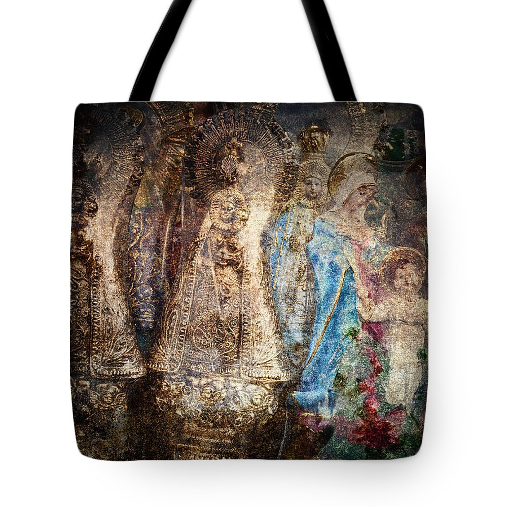 Abstract Tote Bag featuring the photograph Manaoag by Skip Nall