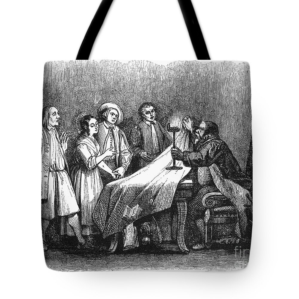 1840 Tote Bag featuring the photograph Manzoni: I Promessi Sposi by Granger