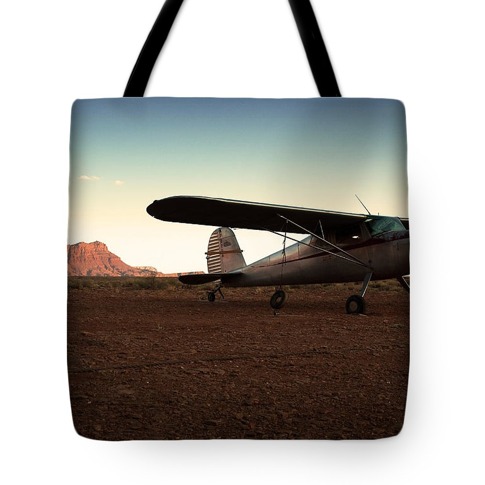 Usa Tote Bag featuring the photograph Marble Canyon by Aurica Voss