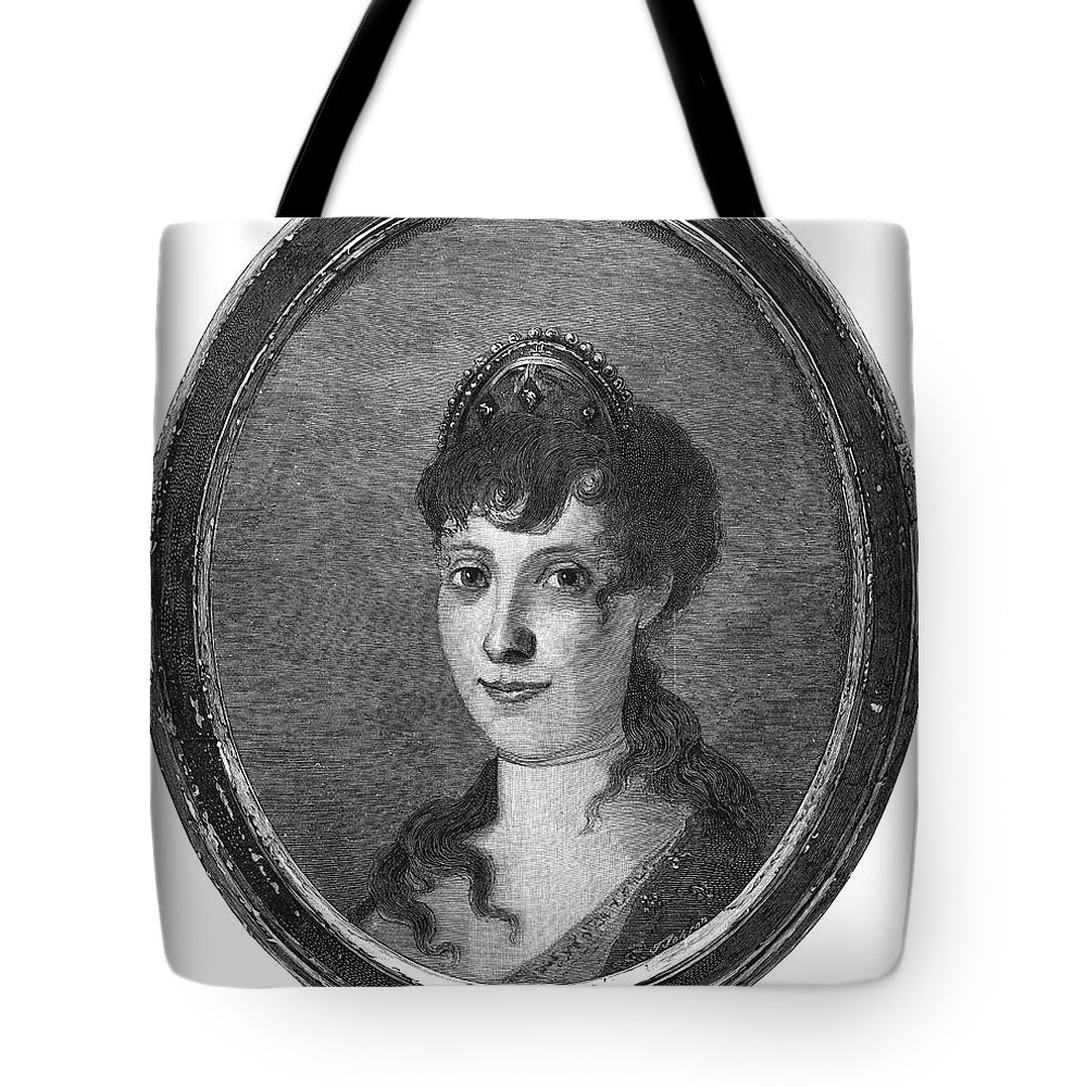 18th Century Tote Bag featuring the photograph Maria Bonaparte (1750-1836) by Granger