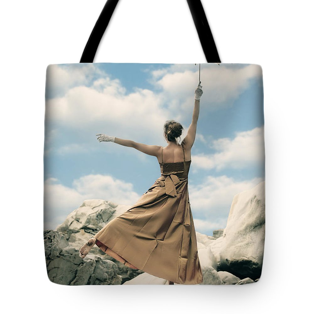 Female Tote Bag featuring the photograph Mary Poppins by Joana Kruse