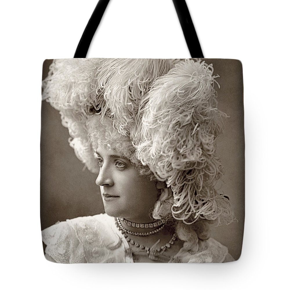 1888 Tote Bag featuring the photograph Mathilde Wadman by Granger