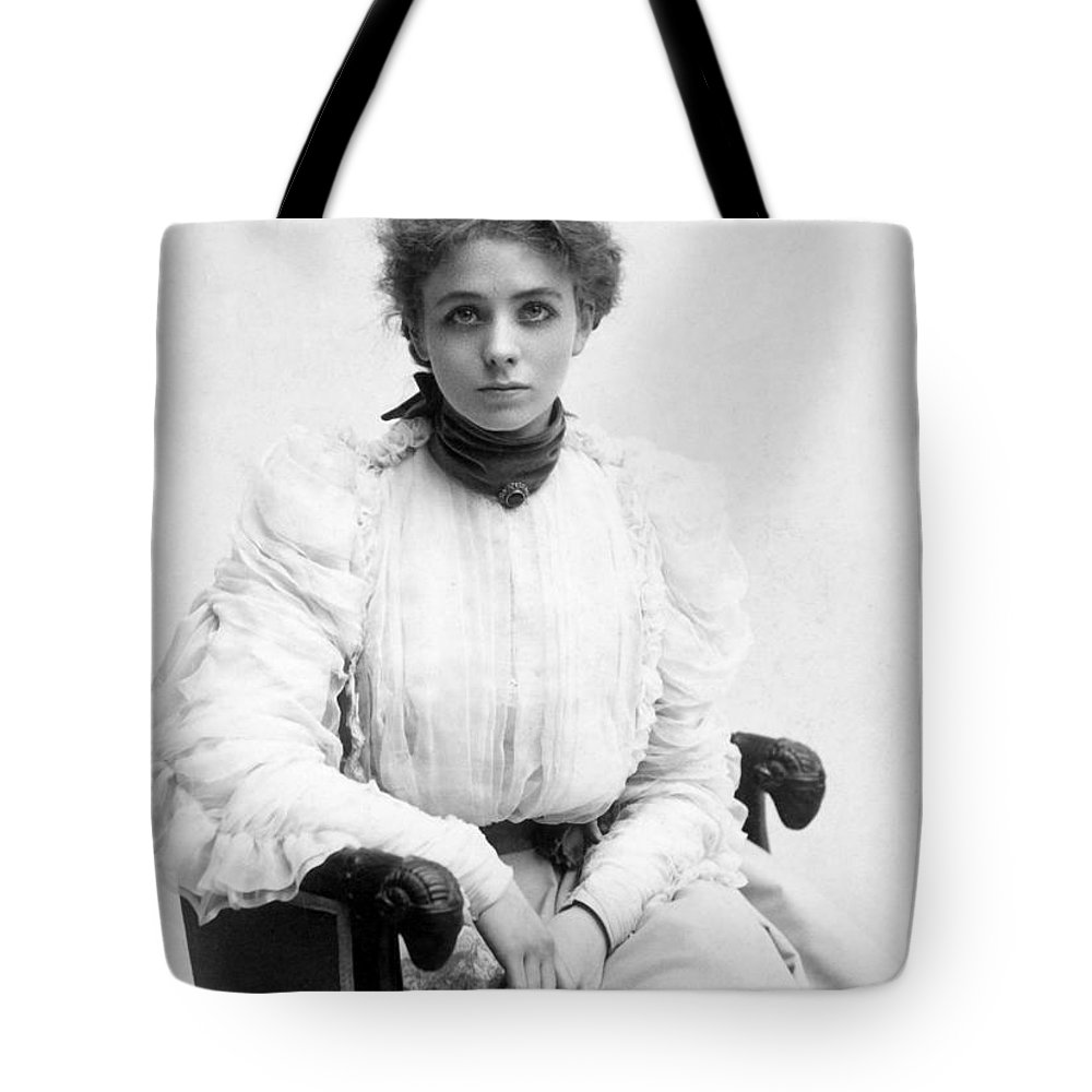 19th Century Tote Bag featuring the photograph Maude Adams (1872-1953) by Granger