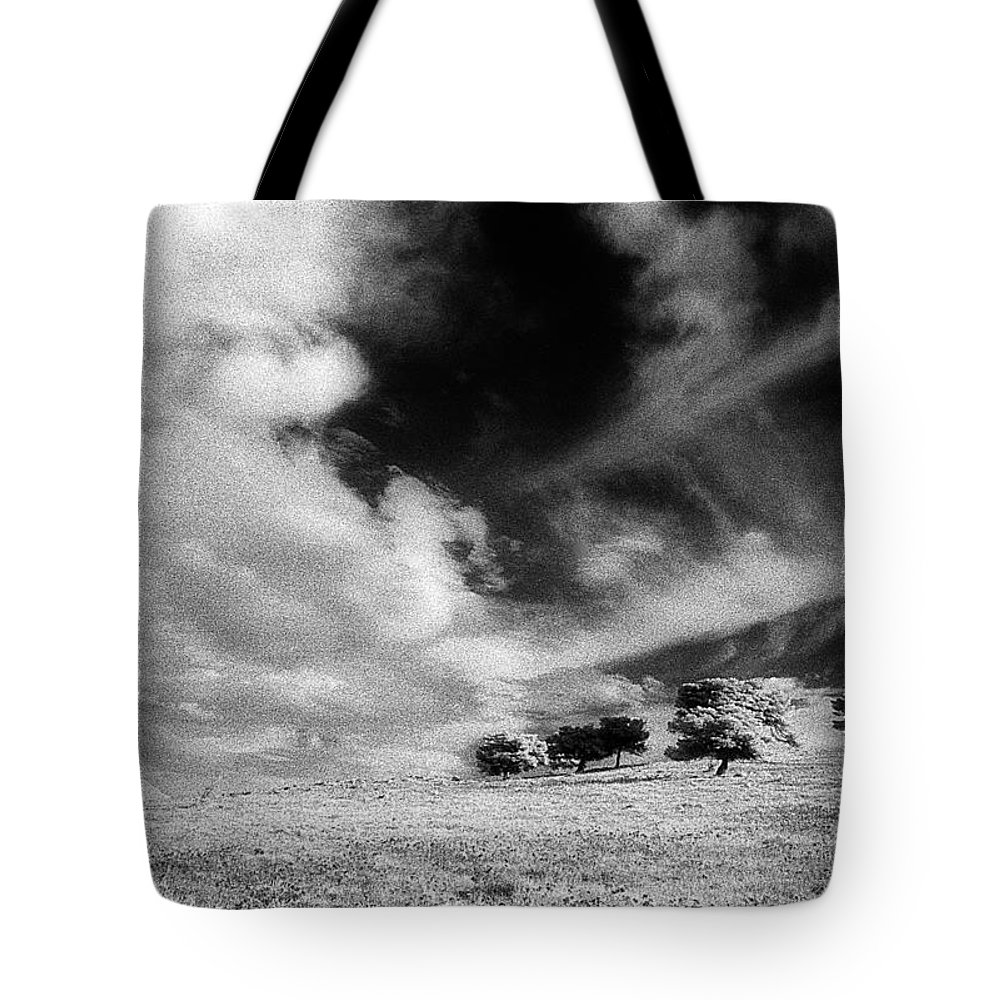 Landscape Tote Bag featuring the photograph Meeting At Horizon by Andonis Katanos