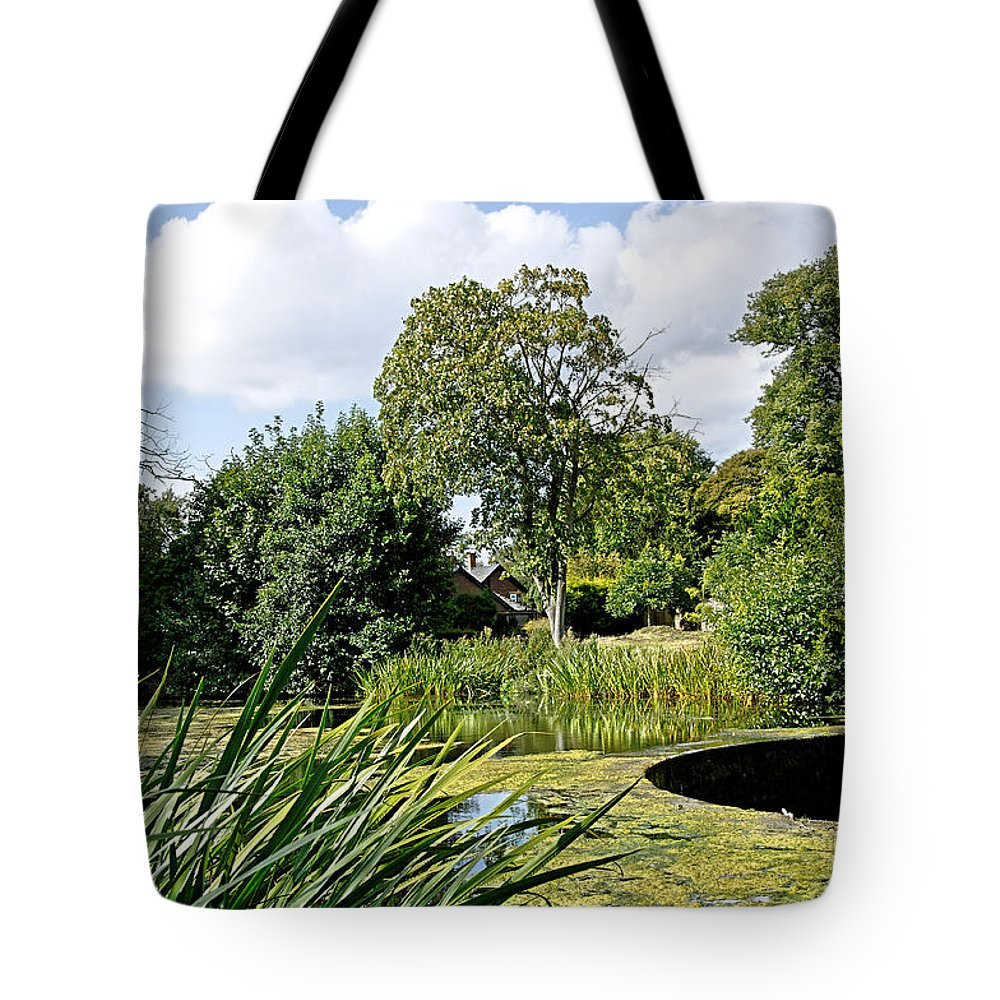 Melbourne Tote Bag featuring the photograph Melbourne Pool And Weir by Rod Johnson