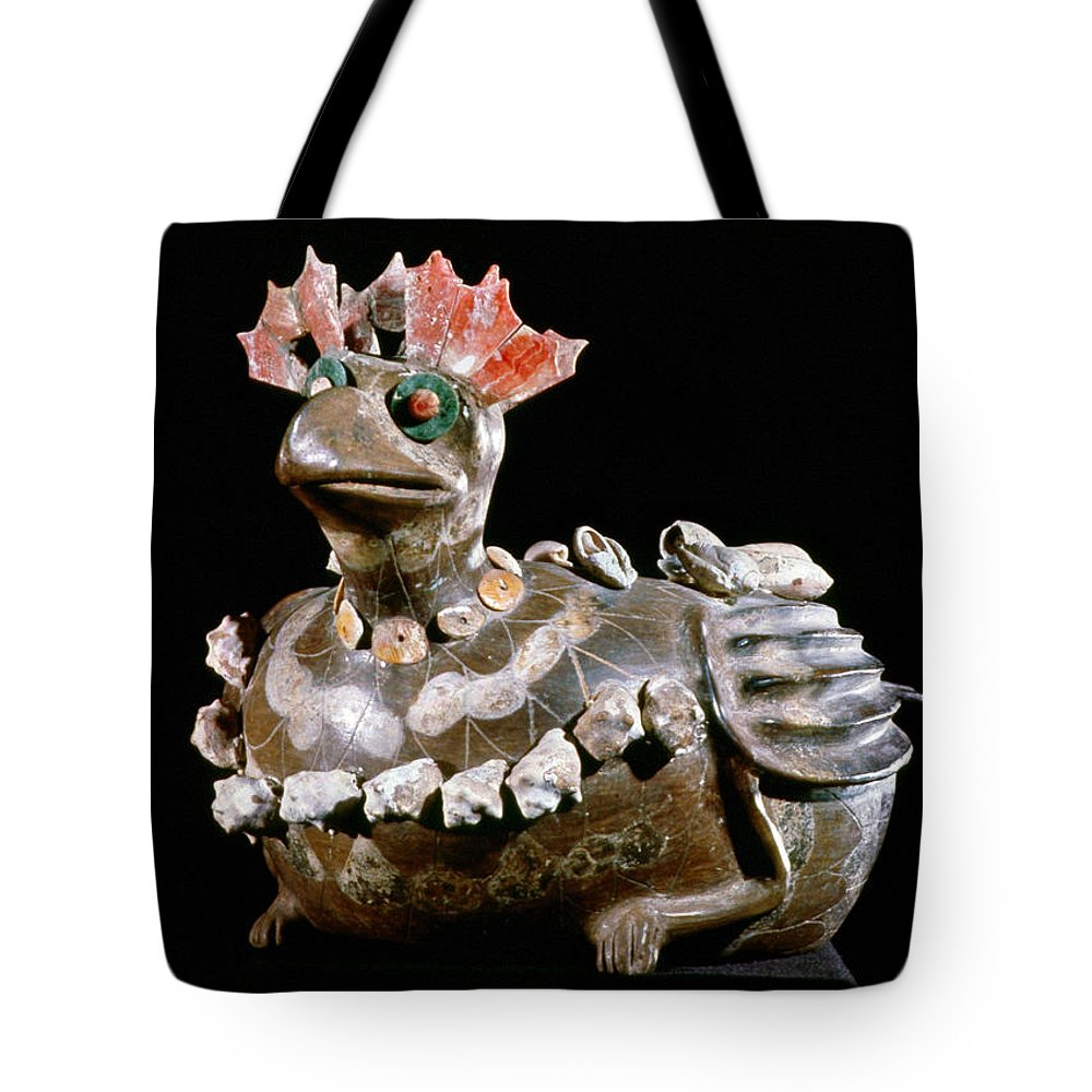 3rd Century Tote Bag featuring the photograph Mexico: Teotihuacan by Granger