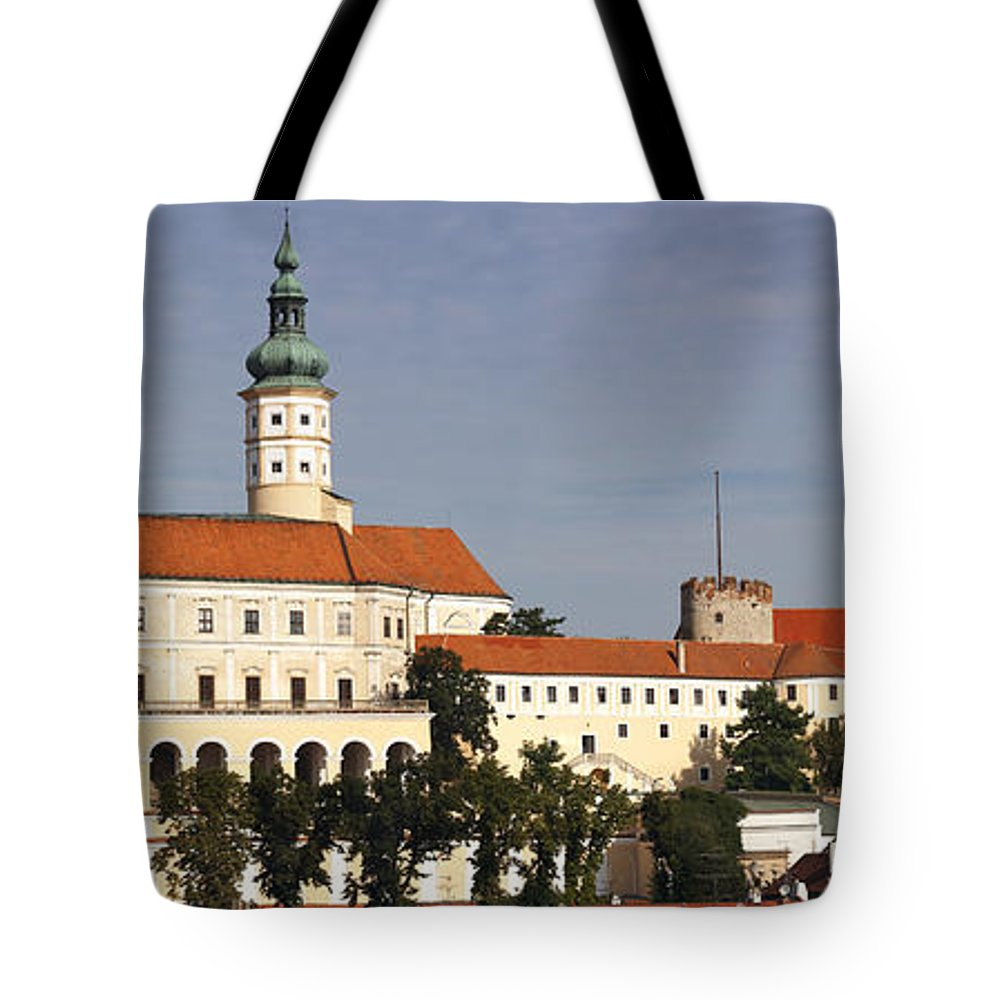 Mikulov Tote Bag featuring the photograph Mikulov Castle by Michal Boubin
