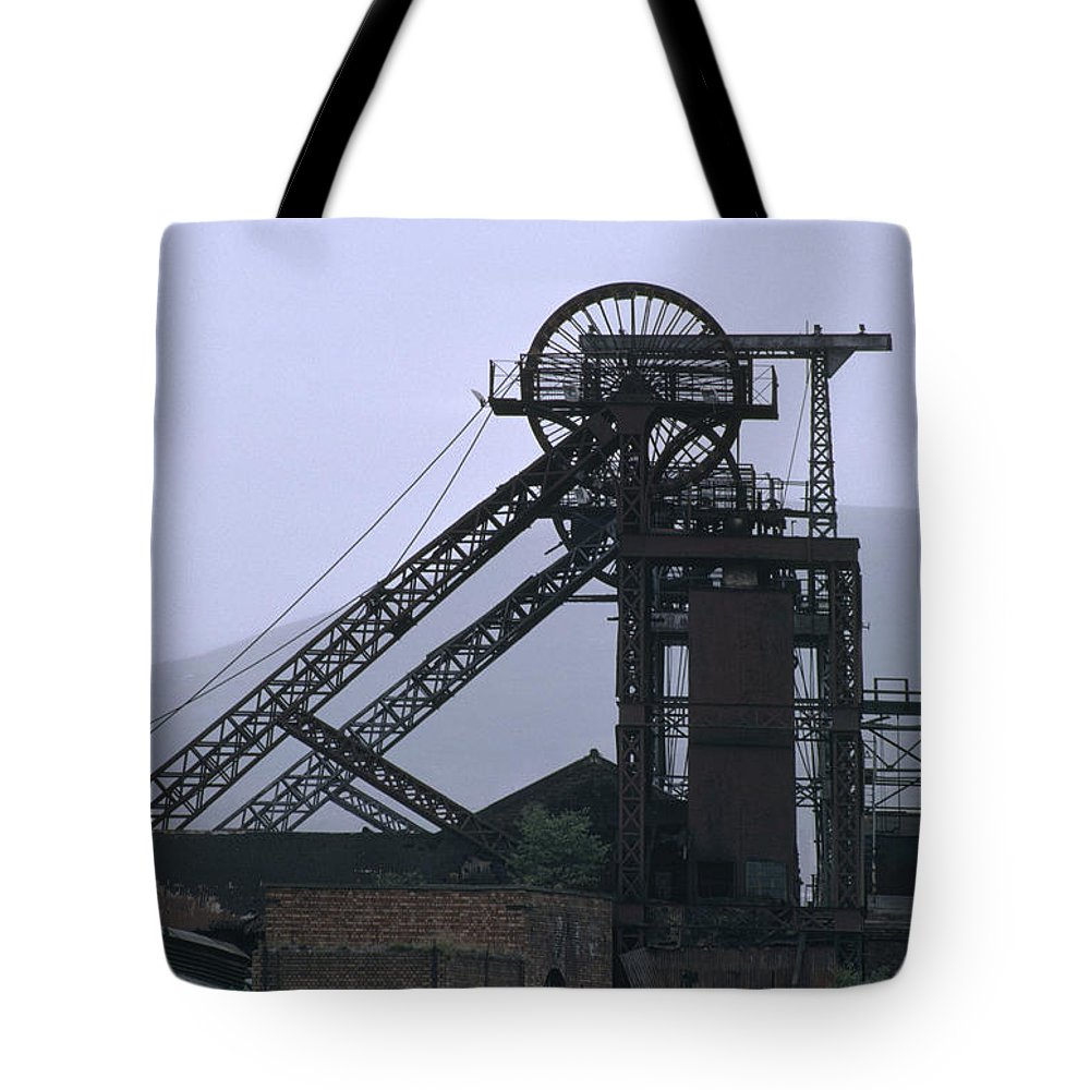 Nostalgia Tote Bag featuring the photograph Mining History by Shaun Higson