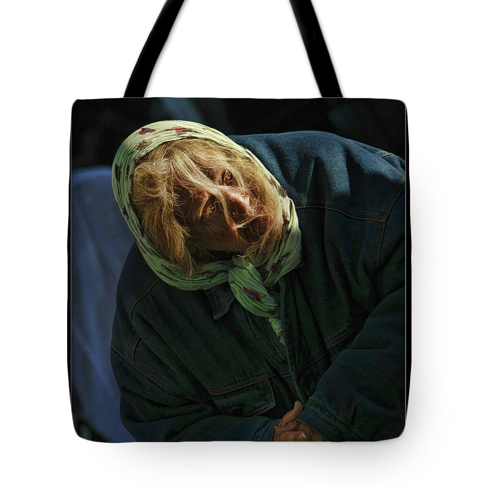 Tote Bag featuring the photograph Miss Crab Apple by Blake Richards