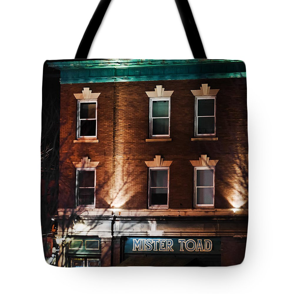 Omaha Ne Tote Bag featuring the photograph Mister Toad by Edward Peterson