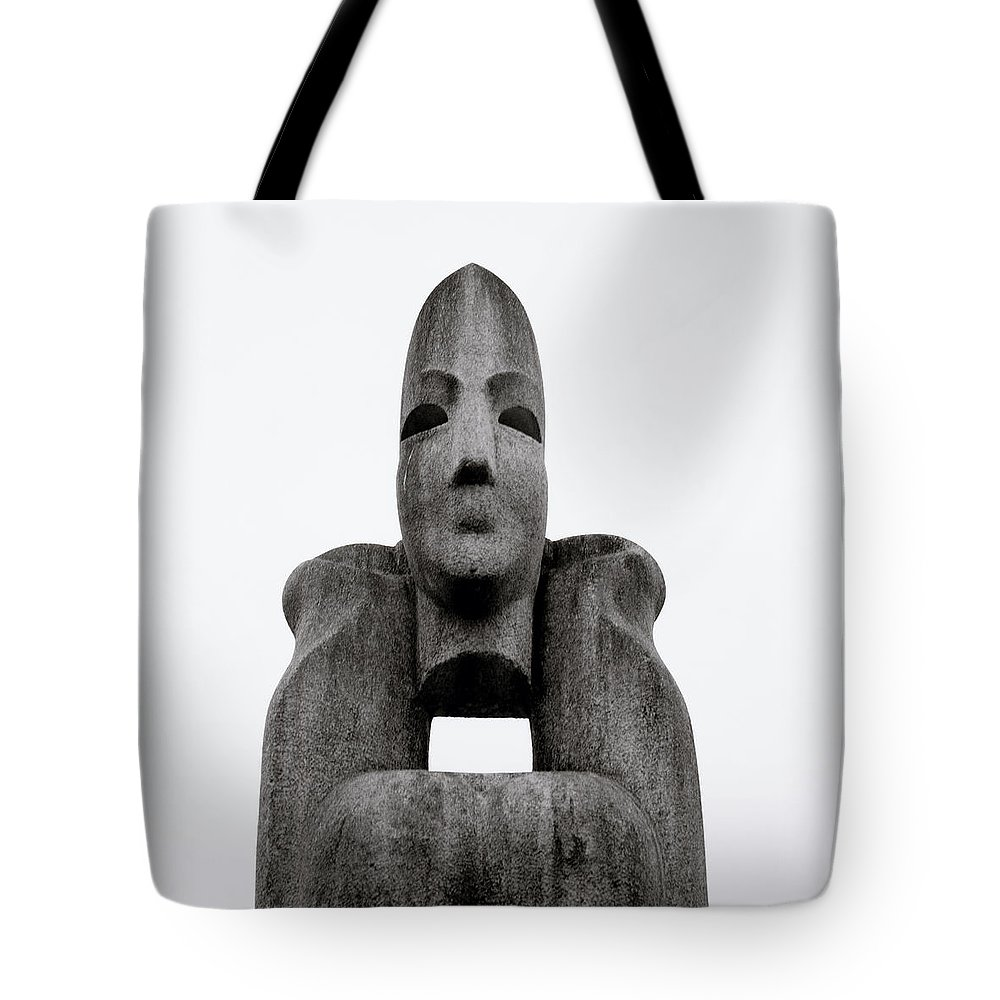 Asia Tote Bag featuring the photograph Modern Sculpture by Shaun Higson