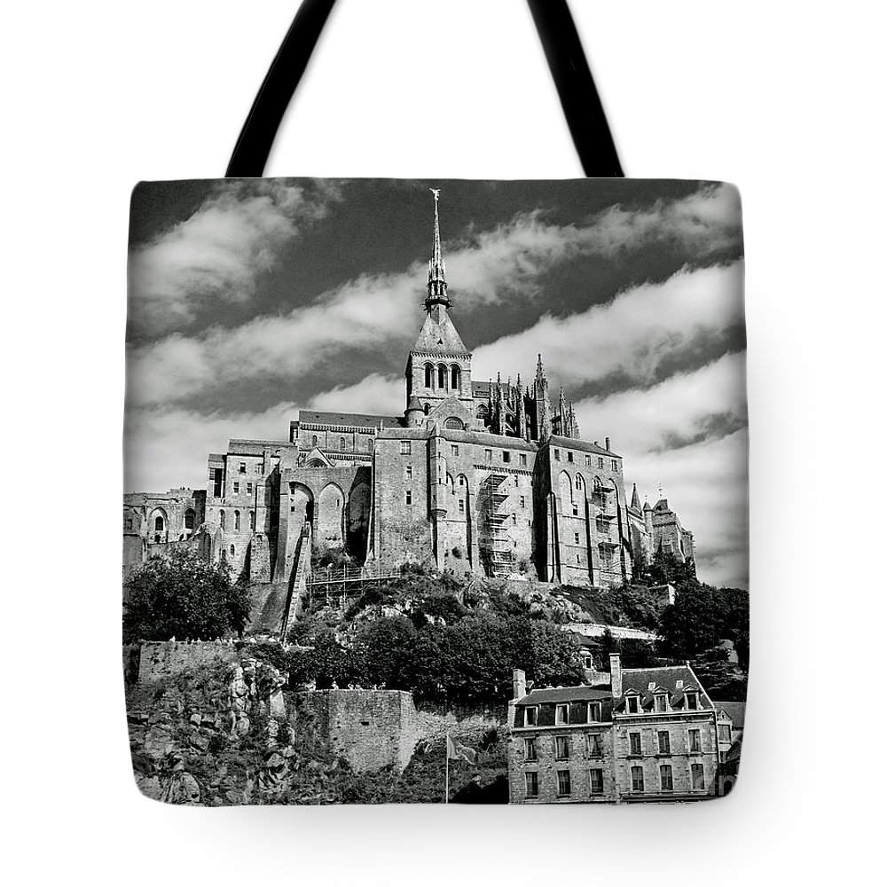Tote Bag featuring the photograph Mont St. Michel by Jim Chamberlain