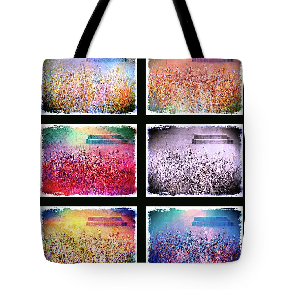 Landscape Tote Bag featuring the photograph Moods Of The Harvest by Kevyn Bashore