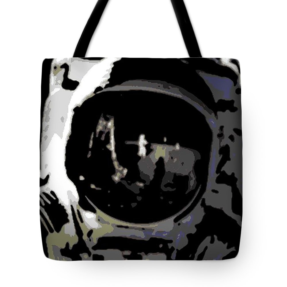 Moon Walk Tote Bag featuring the photograph Moon Walk by George Pedro
