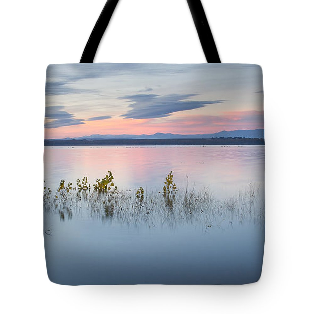 Idaho Tote Bag featuring the photograph Morning Calm by Idaho Scenic Images Linda Lantzy