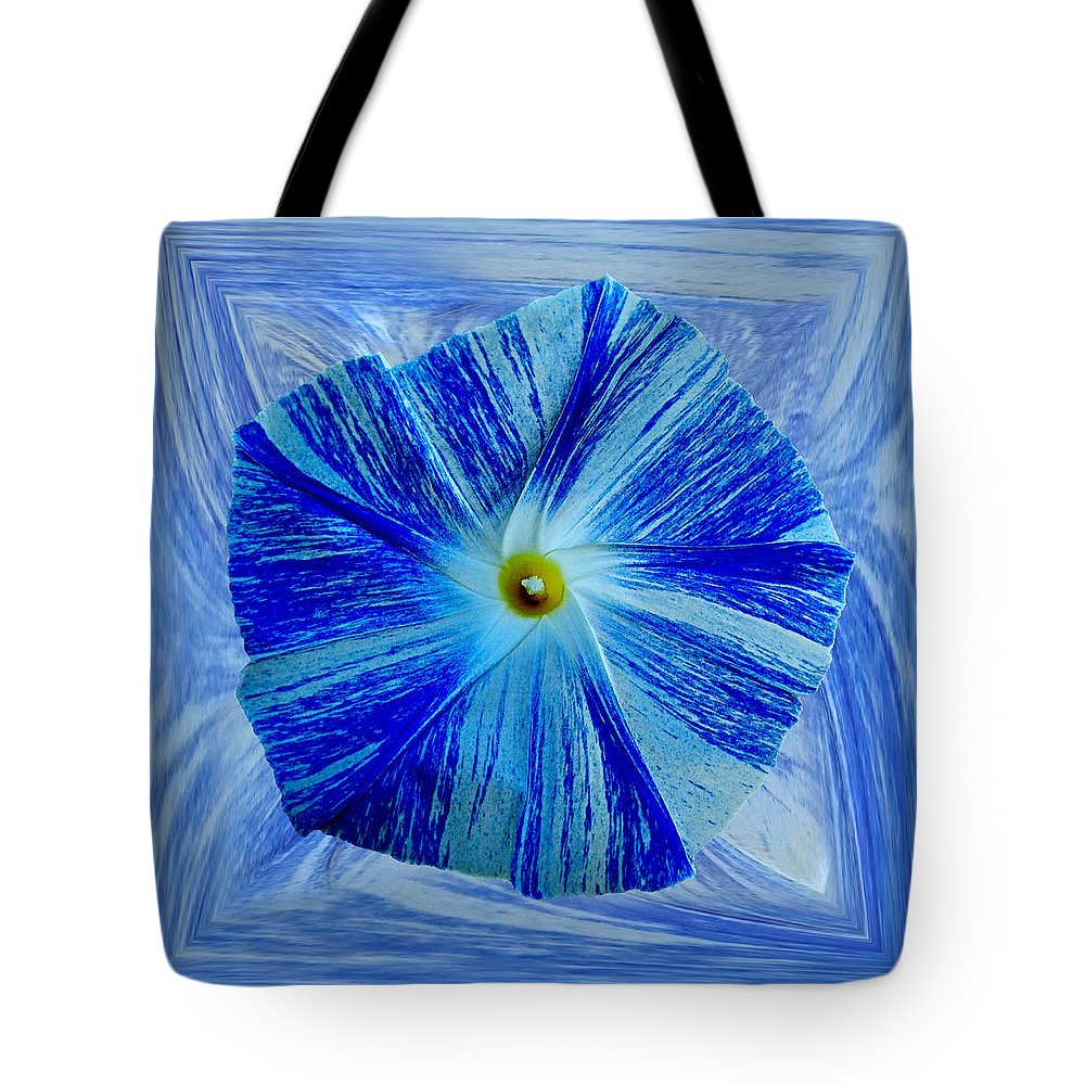 Morning Glory Tote Bag featuring the photograph Morning Glory 3 by Nick Kloepping