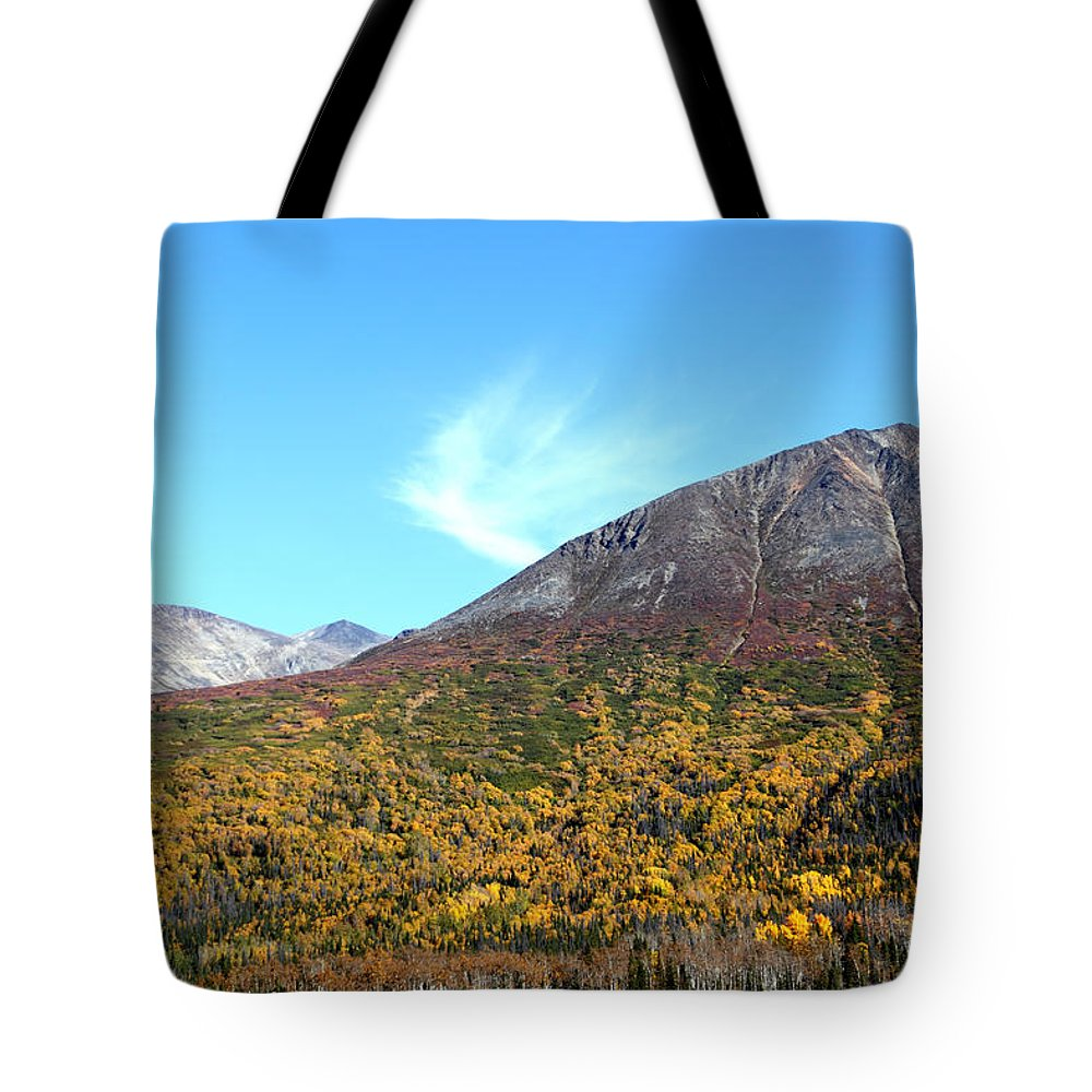 Doug Lloyd Tote Bag featuring the photograph Mountain Colors by Doug Lloyd