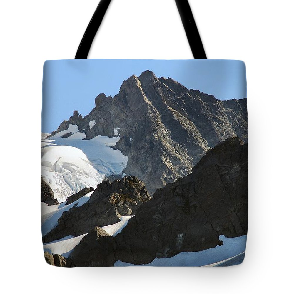 Mountain Tote Bag featuring the photograph Mountain's Majesty by Michael Merry