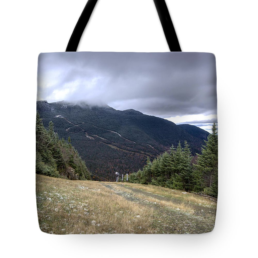 Vermont Tote Bag featuring the photograph Mt Manfield Vermont 20 by Paul Cannon