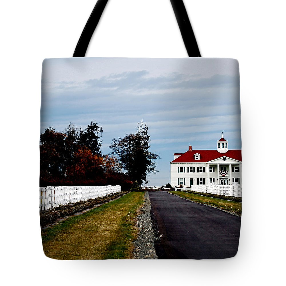 Replica Tote Bag featuring the photograph Mt. Vernon'esque In Wa by Marie Jamieson